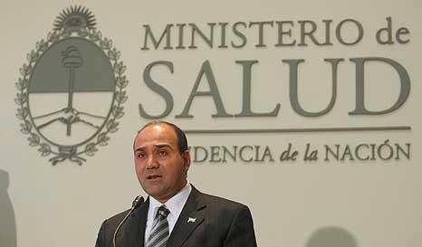ministro salud de la nacion argentina juan luis mansur