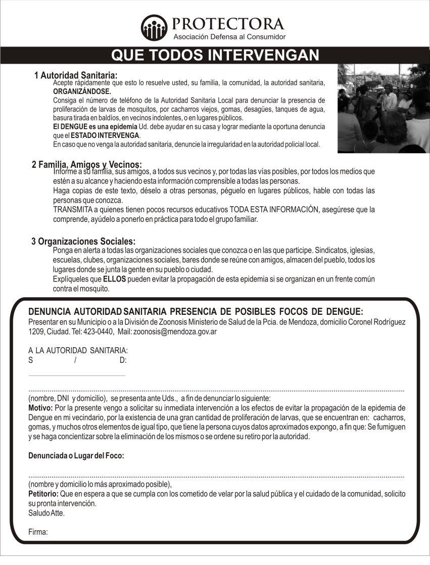 folleto dengue contrafaz