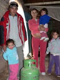familia leguiza sin gas hace 20 días protectora defensa consumidor