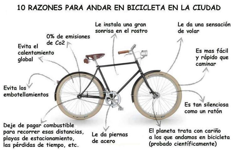 bicicleta razones