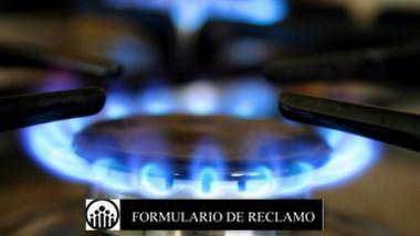 formulario reclamo gas