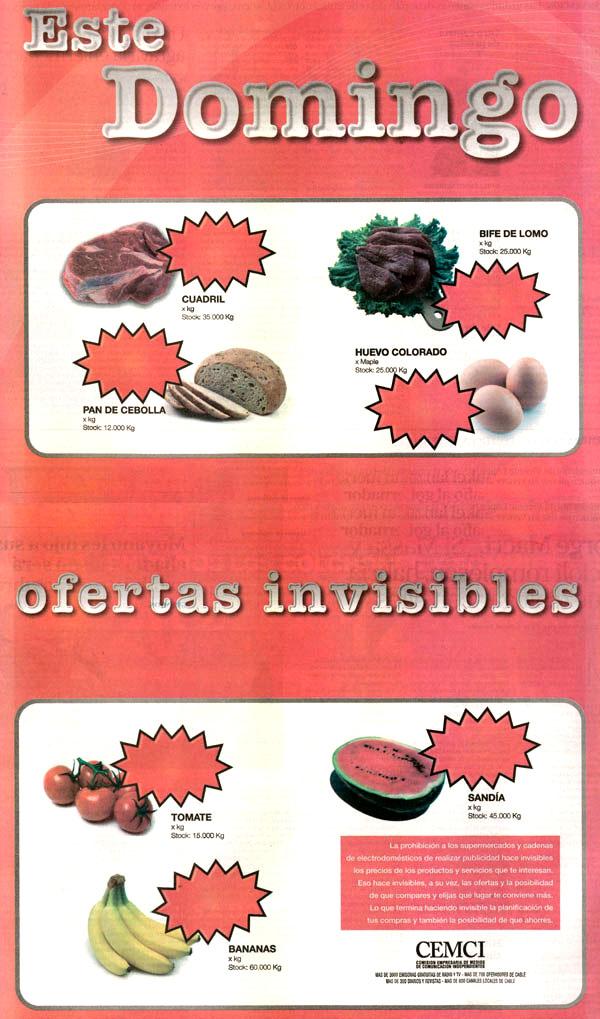 publicidad invisible