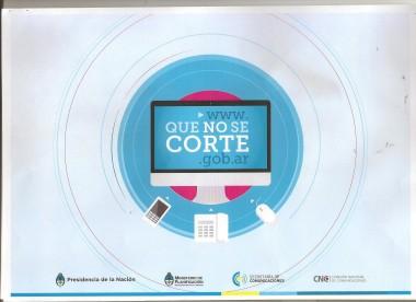 # QUE NO SE CORTE 1 001