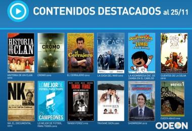 Odeon, la plataforma web con películas y series nacionales